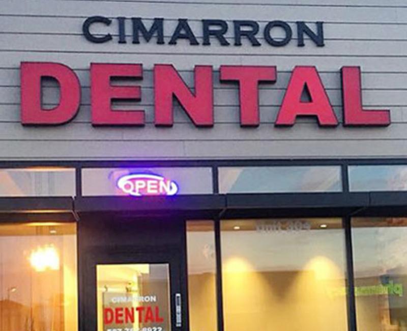 welcome to cimarron family dentist in okotoks